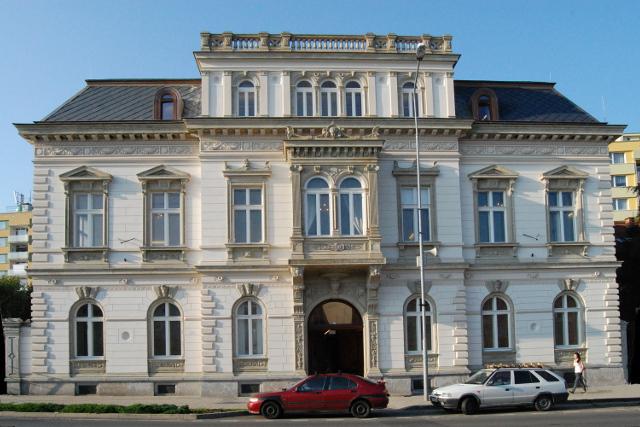 Pfannschmidtova vila Lovosice